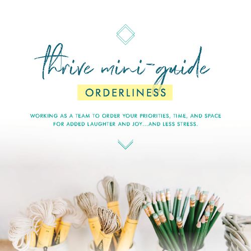 DOWNLOADABLE: ORDERLINESS MINI-GUIDE