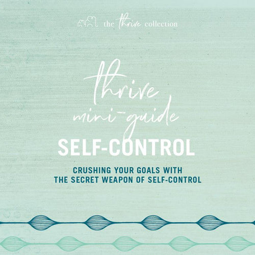 DOWNLOADABLE: SELF-CONTROL MINI-GUIDE