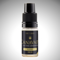CANAVAPE - 100mg CBD E-LIQUID - BLUEBERRY