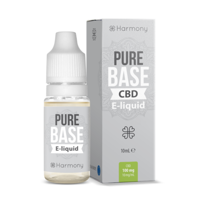 HARMONY - PURE BASE - CBD E-LIQUID