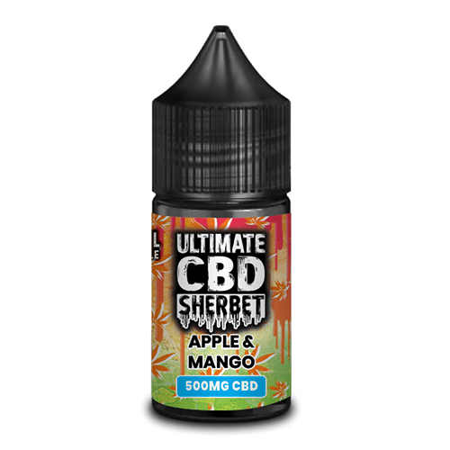 ULTIMATE CBD SHERBET - APPLE & MANGO CBD E-LIQUID