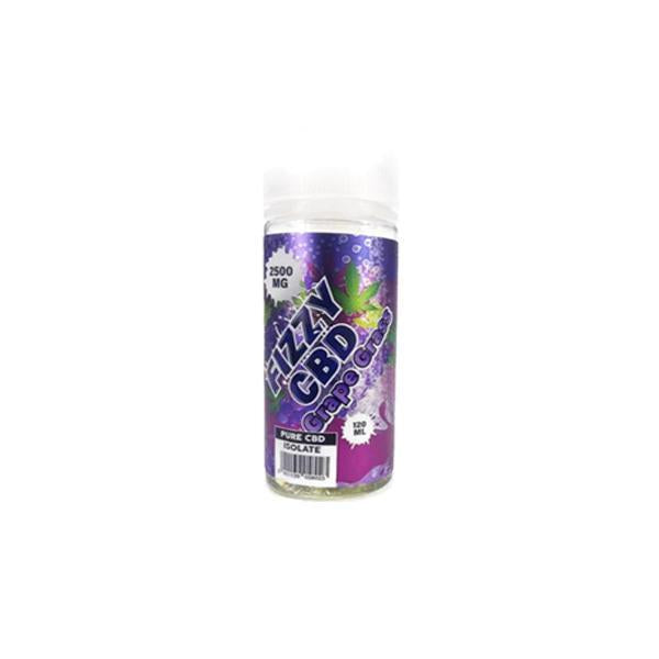 FIZZY CBD 100ml - GRAPE GRASS CBD E-LIQUID