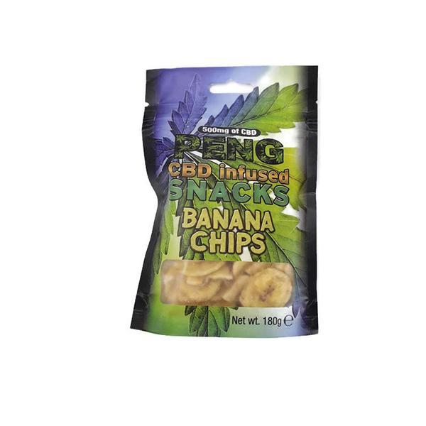 PENG CBD SNACKS - 500mg CBD INFUSED BANANA CHIPS