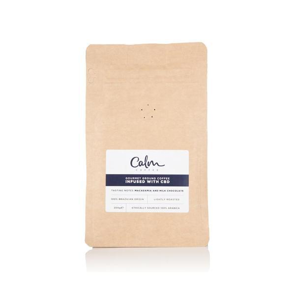 CALM CBD COFFEE - GOURMET GROUND COFFEE - 100mg CBD