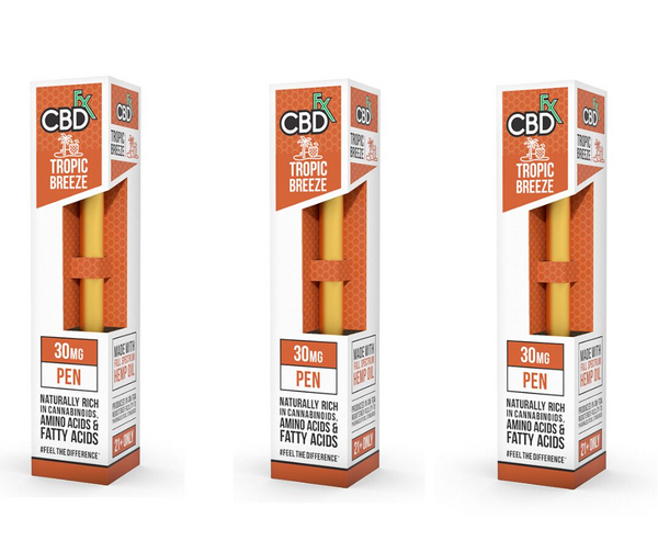 CBDFX - 30mg DISPOSABLE CBD PEN - TROPIC BREEZE