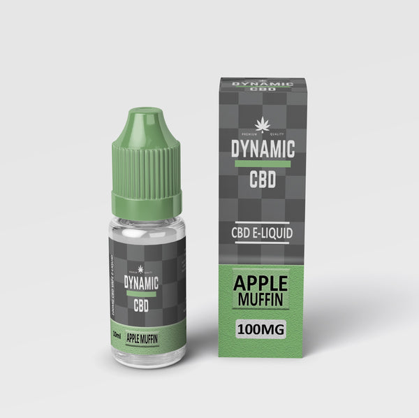 DYNAMIC CBD E-LIQUID - APPLE MUFFIN 100mg