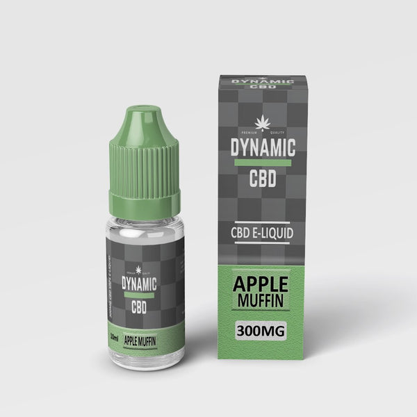 DYNAMIC CBD E-LIQUID - APPLE MUFFIN 300mg