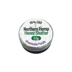 CBD - NORTHERN HEMP HONEY SHATTER  - GRANDADDY PURPLE
