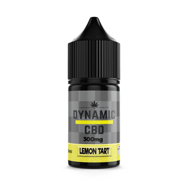 DYNAMIC CBD DESSERTS E-LIQUID - LEMON TART 300mg