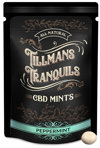 TILLMANS TRANQUILS 100mg CBD MINTS