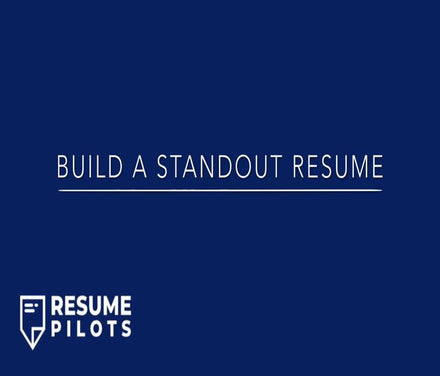 Our Build a Standout Resume online course