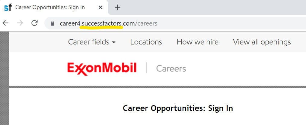 Exxon-SuccessFactors-ATS