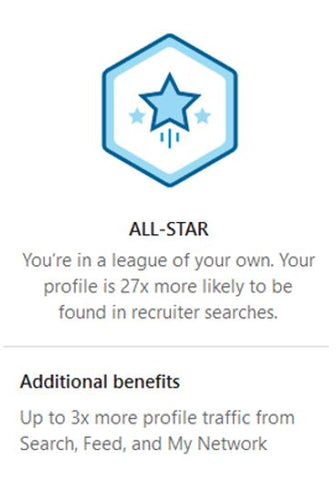 How to Achieve LinkedIn All-Star Status