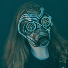 Load image into Gallery viewer, #bitbright Steampunk Mask [CROWDFUNDING ITEM]