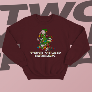 Two Year Break Christmas Sweater *LIMITED EDITION* PRE-ORDER [CROWDFUNDING ITEM]