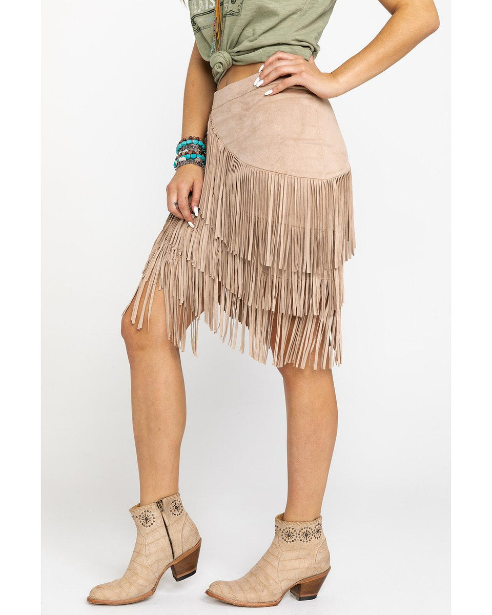 Idyllwind Women S Spellbound Fringe Skirt Wonderwest By