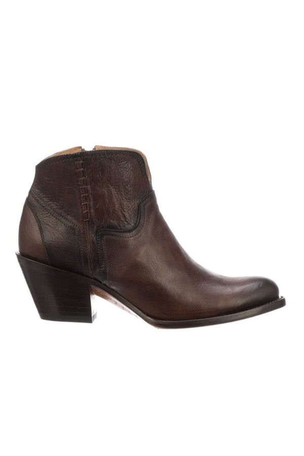 Lucchese Women S Ericka Western Booties Round Toe