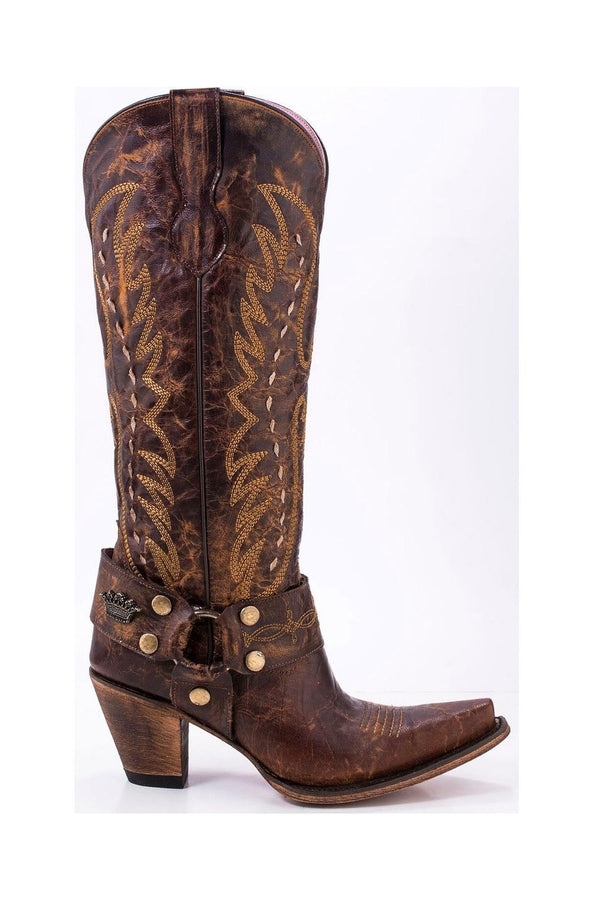 timeless design 8280a 8a2bd Junk Gypsy by Lane Women's Vagabond Harness Western Boots - Snip Toe