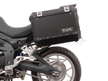 Load image into Gallery viewer, SW-MOTECH Quick-Lock Sidecarrier Mounting Kit. Triumph Tiger 1050 2006-12SW-MOTECH Quick-Lock Sidecarrier Mounting Kit. Triumph Tiger 1050 2006-12SW-MOTECH Quick-Lock Sidecarrier Mounting Kit. Triumph Tiger 1050 2006-12