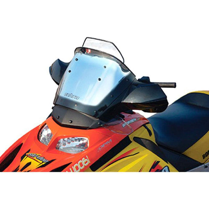PowerMadd 10307010 Cobra Adjustable Windshield Rev