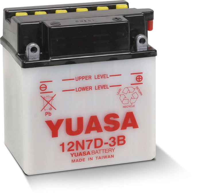 Yuasa 12N7D-3B Conventional 12V Battery YUAM227DB