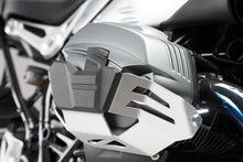 Load image into Gallery viewer, SW-Motech Left & Right Side Aluminum Cylinder Guards BMW R1200GS '10-13, R1200R '11-14, R nineTSW-Motech Left & Right Side Aluminum Cylinder Guards BMW R1200GS '10-13, R1200R '11-14, R nineTSW-Motech Left & Right Side Aluminum Cylinder Guards BMW R1200GS '10-13, R1200R '11-14, R nineT