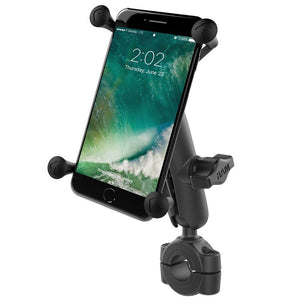 "RAM Mount Torque 0.75"" - 1"", Medium Arm, Large X-Grip for Larger Phones"