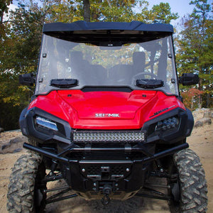 Seizmik 25032 Windshield Full-Vented Scratch Resistant Poly Pioneer