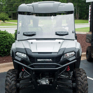 Seizmik 25033 Windshield Full-Vented Scratch Resistant Poly Pioneer