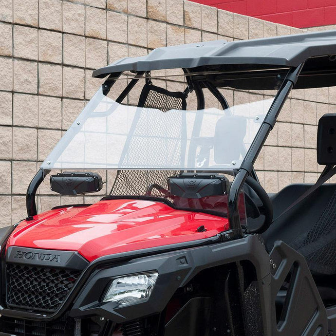 Seizmik 25034 Windshield Full-Vented Scratch Resistant Poly Pioneer