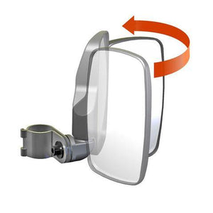 "Seizmik 18080 Side View Mirrors 1.75"" Roll Cage"