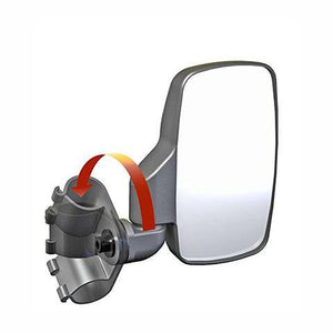 "Seizmik 18082 Side View Mirrors 2"" Roll Cage"