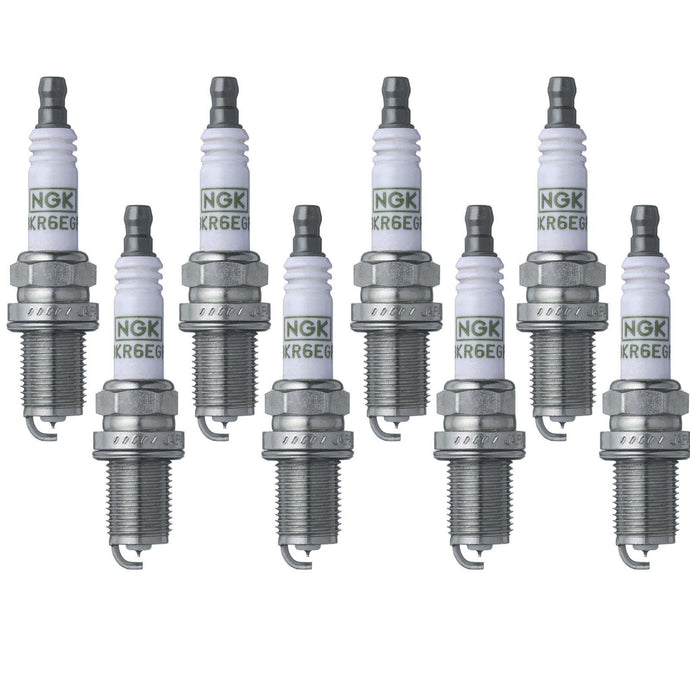 NGK G-Power Spark Plugs 7090 / BKR5EGP (8 PACK)