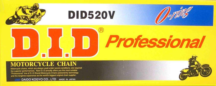 D.I.D Motorcycle Chain O-Ring 520V-120