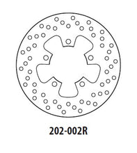 Load image into Gallery viewer, Rear Brake Disc GOLDfren 202-002R