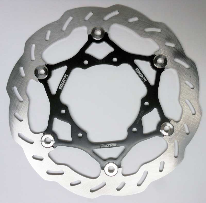 Front Floating Offroad Brake Disc For Honda CR, CRF GOLDfren 7153F3