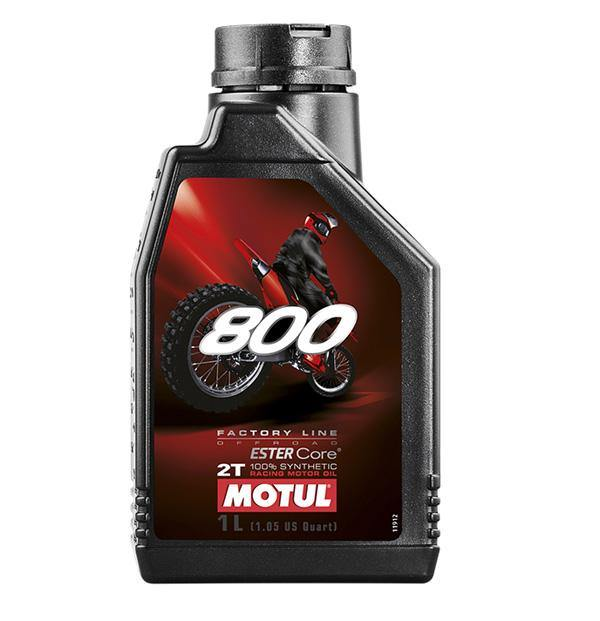 Motul 800 Factory Line 100% Synthetic Oil Offroad 2T