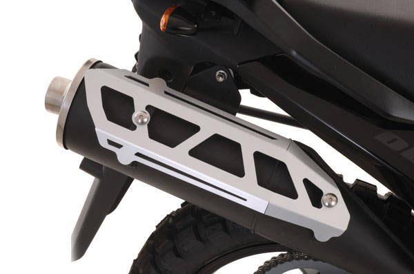 Touratech Aluminum Muffler Guard for Suzuki V-Strom DL650 2006-11Touratech Aluminum Muffler Guard for Suzuki V-Strom DL650 2006-11