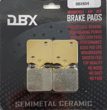 Load image into Gallery viewer, DBX Brake Pads FA604/4 Front