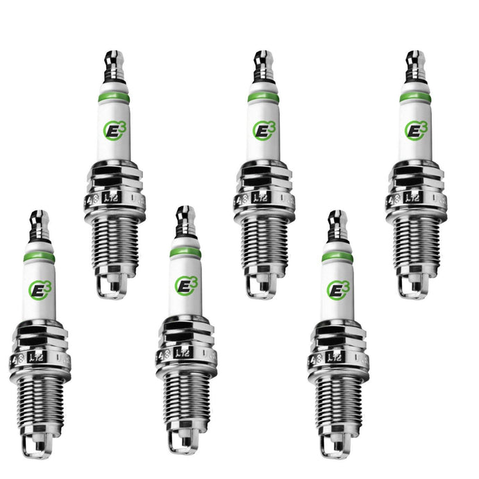 E3.48 E3 Premium Automotive Spark Plugs (6-PACK)