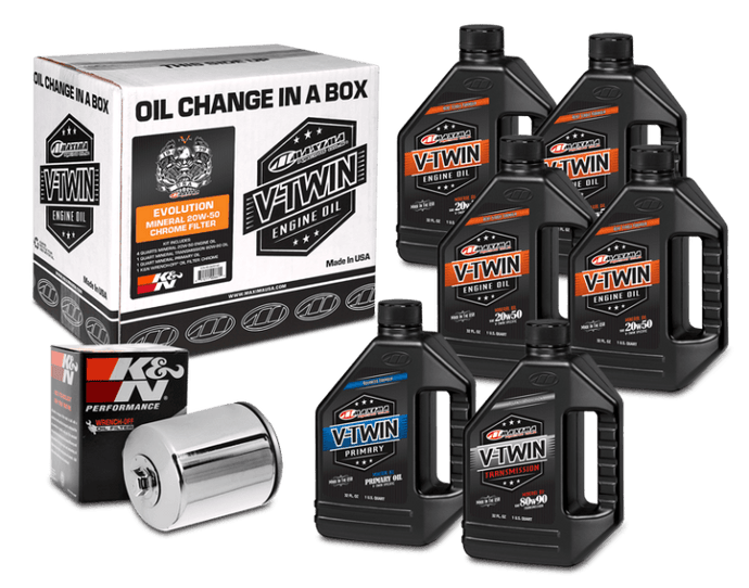 Maxima V-Twin Oil Change Kit Harley Davidson