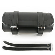 Load image into Gallery viewer, Genuine Leather Motorcycle Fork Roll Tool Bag