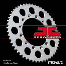 Load image into Gallery viewer, JT Rear Steel Sprocket JTR245/2 520