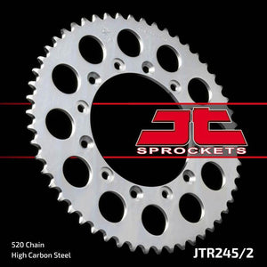 JT Rear Steel Sprocket JTR245/2 520