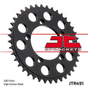 JT Rear Steel Sprocket JTR491 520