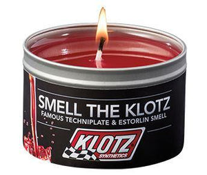 "Klotz Scented Famous Candle TechniPlate ""Smell The Klotz"""