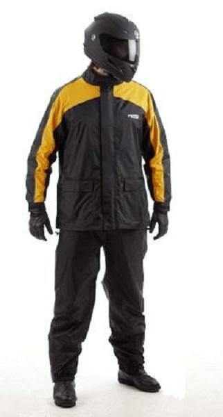 Rainsuit Rain Gear Two-Piece Jacket /& Pants MotoCentric Mototrek