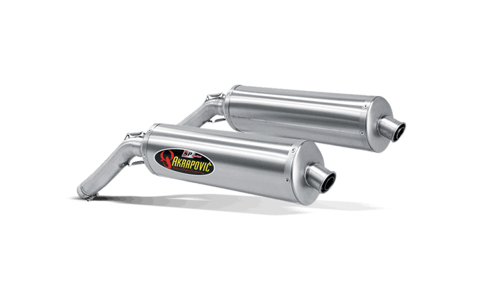 Akrapovic Slip-On Exhaust for Suzuki V-Strom DL1000 2002-09
