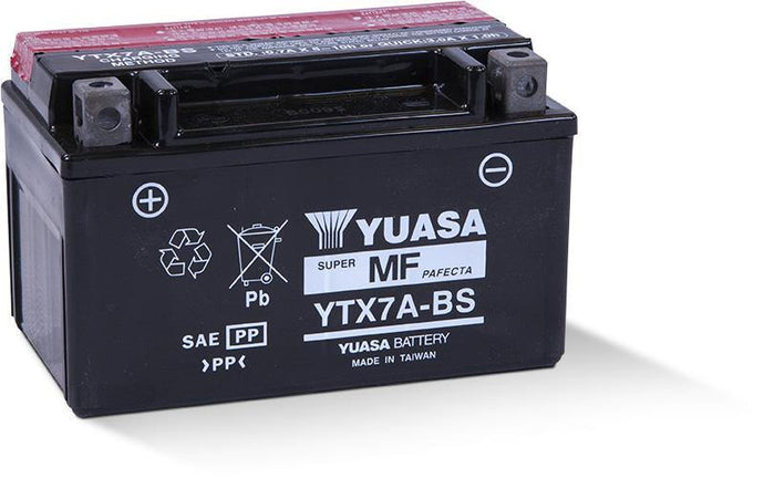 Yuasa YTX7A-BS Maintenance Free 12V Battery YUAM32X7A