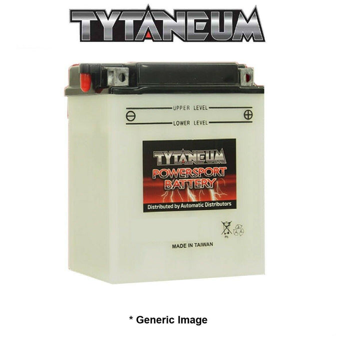 Tytaneum PS Battery YB14A-A2 w/Acid